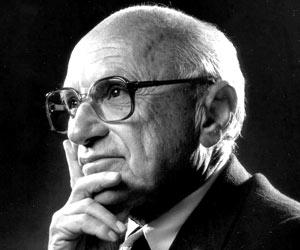 Milton Friedman stelde schuldenvrij geld al eens voor in wat bekend staat als 'Het Chicago Plan'.